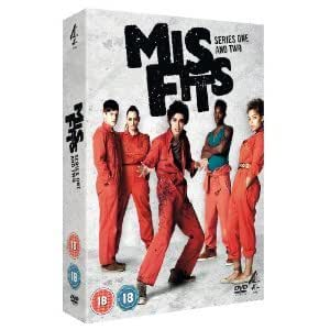 Misfits: E4 Series - Complete Seasons 1 & 2 Including DVD Exclusive Special Features + Interviews (4 Disc Box Set) [DVD]