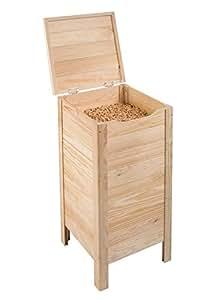 astigarraga baul eiffel coffre pour stockage de pellets 83cm cuisine maison. Black Bedroom Furniture Sets. Home Design Ideas