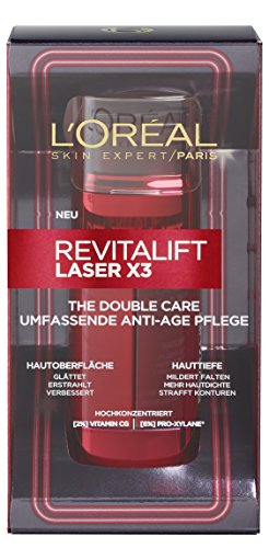 L'Oreal Paris Gesichtspflege Revitalift Laser X3 Anti Aging The Double Care 48ml