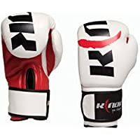 Boxing Gloves Blanco rosso10 oz