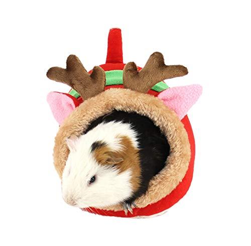VENMO Baumwollhaustier Hamsterhaus Hängemattenbaum Betten Weihnachten