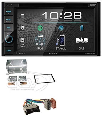 caraudio24 Kenwood DDX4019DAB USB DVD DAB MP3 Bluetooth 2DIN Autoradio für Hyundai Santa Fe (SM 04-06)
