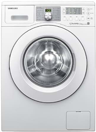 Samsung WF0704W7W 7kg Bubble Wash Technology Washing Machine, 1400rpm, White