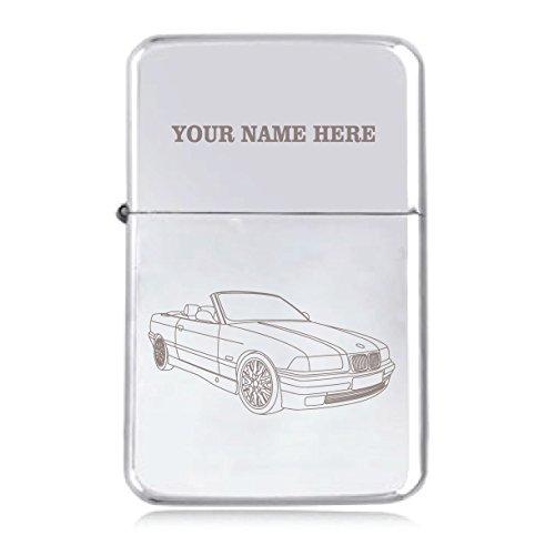 BMW Coupe Design–personalisierbar Star winddicht Benzin Feuerzeug
