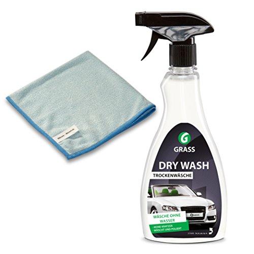 Firoxx Auto Trockenreiniger - Trockenreinigung Trockenwäsche | Autowäsche ohne Wasser | 500ml thumbnail