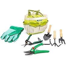 Pflanzen / Garten Werkzeug Set mit Tasche Polyester / Metall / Holz 7-teilig