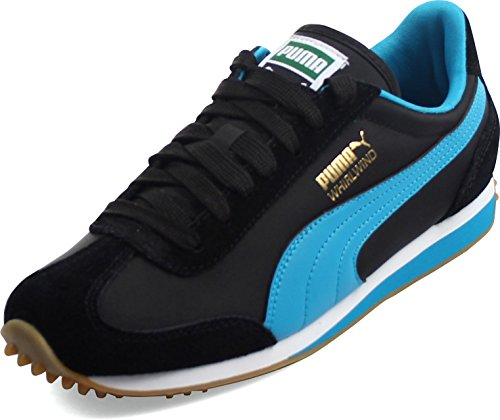 Puma - - Männer Whirlwind Classic Shoes Black/Blue Jewel/White