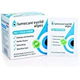 Lumecare Eyelid Wipes 5 pack 100 wipes
