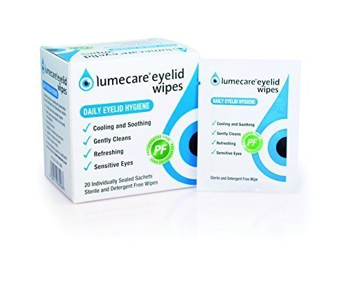 Lumecare Eyelid Wipes 5 pack 100...