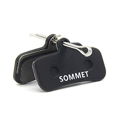SOMMET Pastiglie Freno a Disco Semi-Metallico per Shimano Saint BR-M810 M820 Zee BR-M640