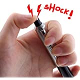 Crispy Deals Shocking Pen Electric Shock Gag Joke Toy Pen and Pen (Pack of 1)