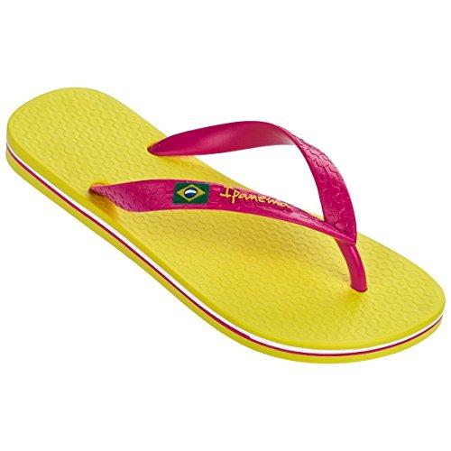 Ipanema Damen Classic Brazil Ii Fem Zehentrenner yellow-pink (80408-8549)