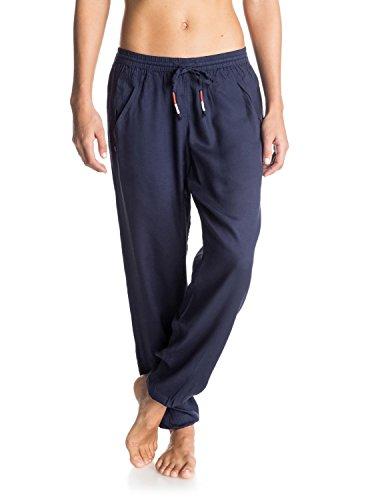 Roxy-Pantaloni da donna Sunday Noon Harem Pants, Donna, Hose Sunday Noon Harem Pants, eclissi, M