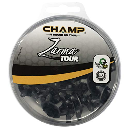 CHAMP Zarma Tour Tri-lok Golf Spikes 18 cleats