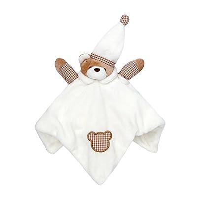 Babytown Baby Boys & Girls Animal Snuggle Comforter Blanket