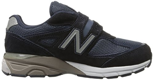 New Balance KV990V4 Pre Running Shoe (Little Kid), Navy, 1 M US Little Kid Navy