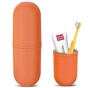Reise Wasser Becher Set, OCHO8 Kreativer Zahnputzbecher Zahnbürstenhalter für Zahnbürste und Zahnpasta, für Camping Reisen, Wandern, Geschäftsreisen, Zuhause