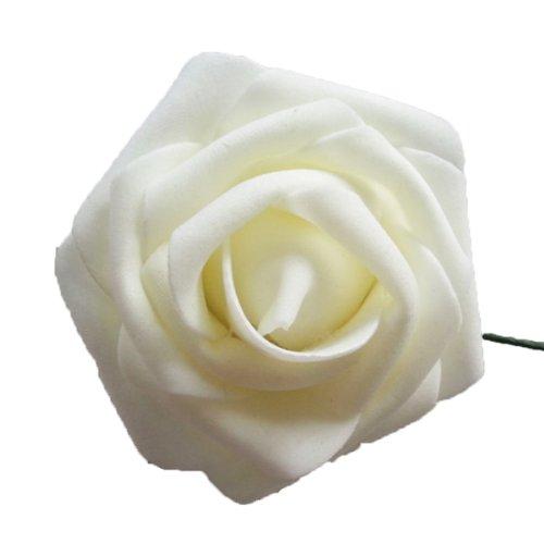 eyourlife-50x-kunstrose-kunstblumen-rosenblten-knstlicher-rosen-hochzeit-party-deko-beige