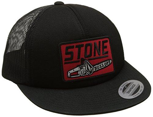 Volcom Buzz Off Chees Hat Trucker Cap Baseballmütze Snapback Schildmütze Black