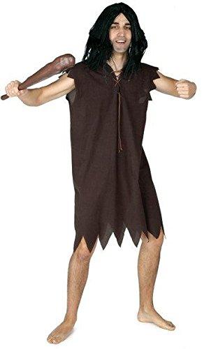 EL REY DEL CARNAVAL, SL Günstiges Barney-Kostüm für Herren Einheitsgröße