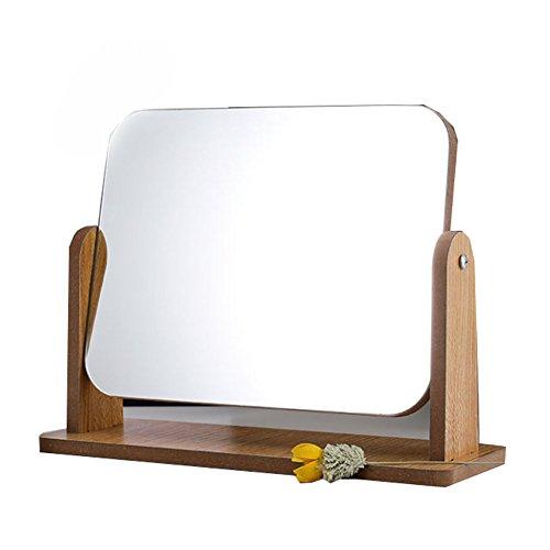 Miroir cosmétique de haute définition 360 ° de rotation réglable de côté simple
