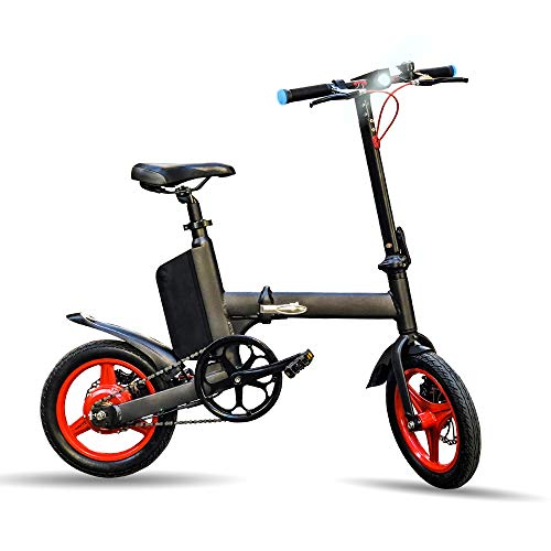 BEEPER Ivélo Bicicleta Eléctrica, Unisex Adulto, Noir, 990 Mm x 1175Mm x 520Mm