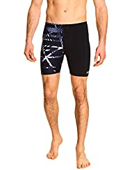 Zoggs Men's Equation Mid Jammer Swim Shorts