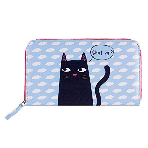 Portefeuille COMPAGNON Black cat - Derrière la porte