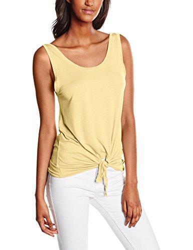 Only Onlmiley S/L Knot Top Ess, Débardeur Femme Jaune (Mellow Yellow)