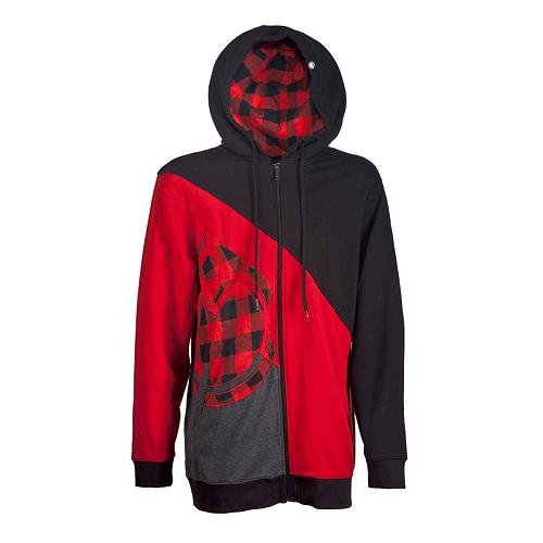 nomis-diagonale-icon-sweat-shirt-a-capuche-xl-rouge-electric-red