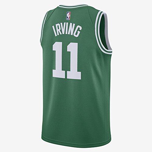 Irving pour homme Vert Celtics Jersey pour homme 17/18 M Green