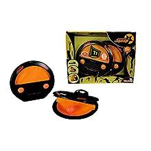 Simba Fangballspiel, 2er-Set Squap-Set di 2 giocatori di pesce, Colore, 107202420