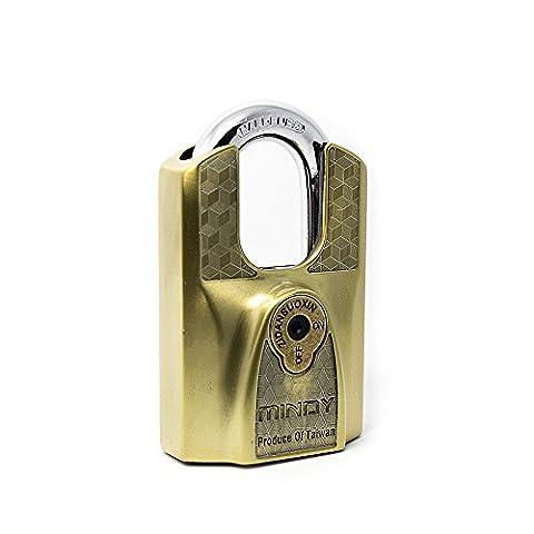 Mindy AF12-60 Vorhängeschloss mit Schlüssel, Zinklegierung