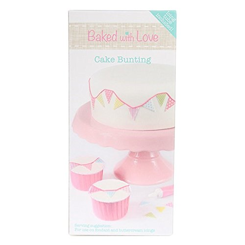 Edible Cake Bunting and Icing Tube by Baked with Love