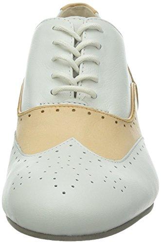 Clarks Ennis Willow, Chaussures de ville femme Blanc
