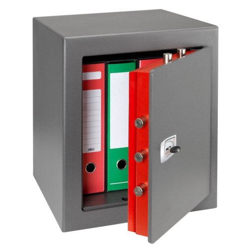 CASSAFORTE A MOBILE IGNIFUGA TECHNOMAX DPK/7 CON CHIAVE A DOPPIA MAPPA 490X430X430MM