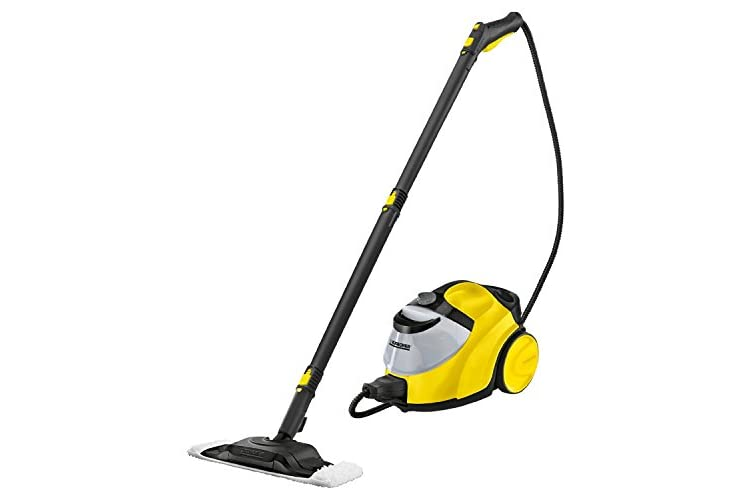 Karcher SC5 Continuous Steam Cleaner, 2200 W, 4.2 Bar - Yellow/Black/Grey