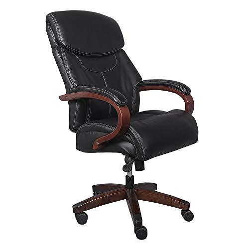 Günstige Bürostühle High Back Bonded Leather Bürodrehsessel Computer Chair Sonderangebot Personal Chair mit Lift- und Drehfunktion