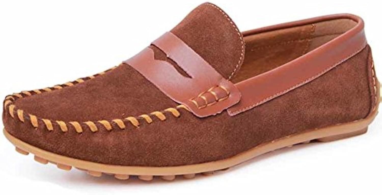 Herren Sommerschuhe Peas/Scheuert sich atmungsaktive Schuhe/Mode Freizeitschuhe/Stellt Fuß faule Schuhe/Flachtreib