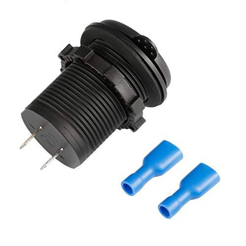 Monlladek 4,2 A DC 12 V / 24 V Dual USB Ladegerät Netzteil Steckdose Power für Auto Boot Motorräder Auto LKW ATV Telefon LED-Licht -