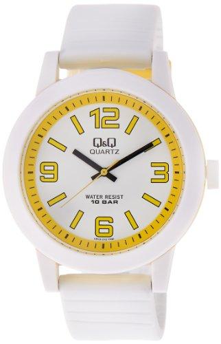 Q&Q Analog White Dial Men's Watch - VR10J010Y image