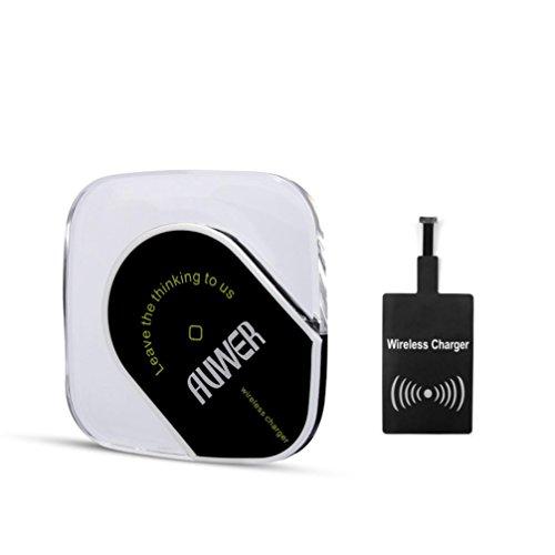 Yukong Universale Qi caricabatterie wireless, Ultra-Slim Wireless Charging Pad con Android ricevitore modulo per il bordo della galassia S7 Galaxy S7 Galaxy S6 + di Windows Phone Android
