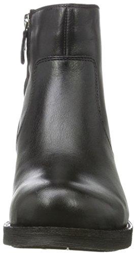 Geox New Virna D, Bottes Chelsea Femme Noir (Black)