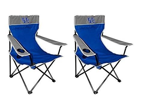 NCAA Kentucky Wildcats Kickoff Chair (2 Pack), Size 2, Blue