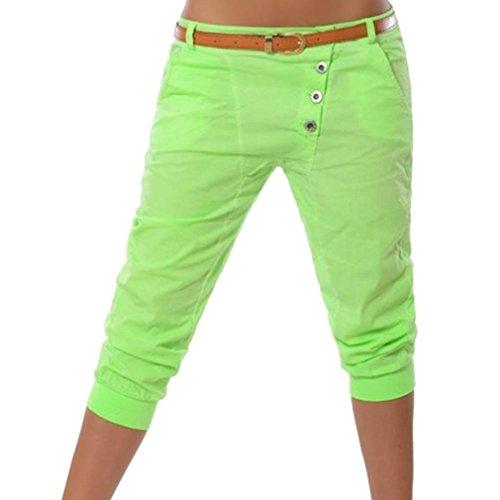 /4 Hose Kurze Sommer Chino Stoffhose Bermuda Einfarbig Beiläufige Pants Kurze Hosen Streetwear S-5XL (Die Kleidung)