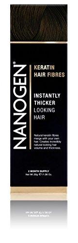 Nanogen Keratin Thickening Hair Fibres, 30 g, Dark Brown