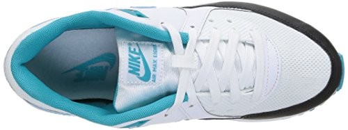 Nike Wmns Air Max Light Essential, Scarpe sportive, Donna White/Dusty Cactus/Black