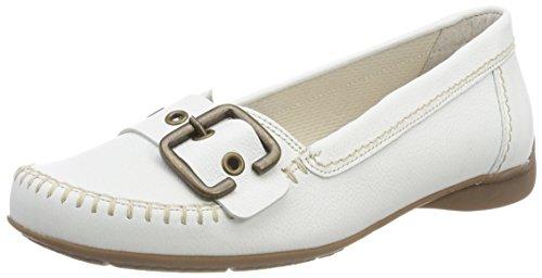 Gabor Shoes Damen Comfort Sport Geschlossene Ballerinas, Weiß (Weiss (S.Natur)), 38.5 EU