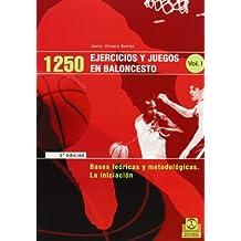 1250 Ejercicios y Juegos de Baloncesto - 3 Tomos (Deportes)