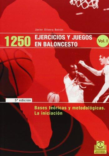 Descargar Libro 1250 Ejercicios y Juegos de Baloncesto - 3 Tomos (Deportes) de Javier Olivera Betrán
